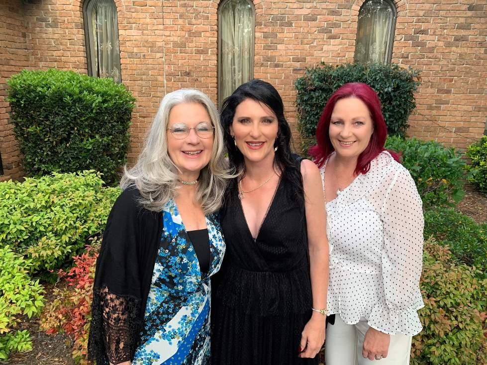 Vicki Morris, Cathy Stevenson & Debbie Bathgate